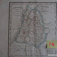 Arte: LAS DOCE TRIBUS DE ISRAEL. DUODECIM TRIBUS ISRAELIS. 1830. DELAMARCHE 1830.. Lote 208759676