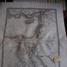 Arte: MAPA DE SIRIA Y EGIPTO. CARTE DE LA SYRIE ET DE L'EGIPTE ANCIENNES - LAPIE 1833. GRAN FORMATO.50,5 X. Lote 208761800