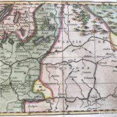 Arte: MAPA DEL ESTE DE ALEMANIA Y POLONIA, 1763. GUILLAME DHEULLANT. Lote 208932317