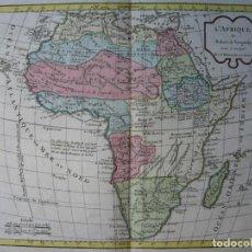 Arte: MAPA DE ÁFRICA, HACIA 1799. VAUGONDY/DELAMARCHE. Lote 209361470
