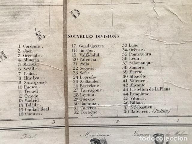 Arte: Gran mapa plegable de España y Portugal, hacia 1840. Fremin/Lavigne - Foto 29 - 209579826
