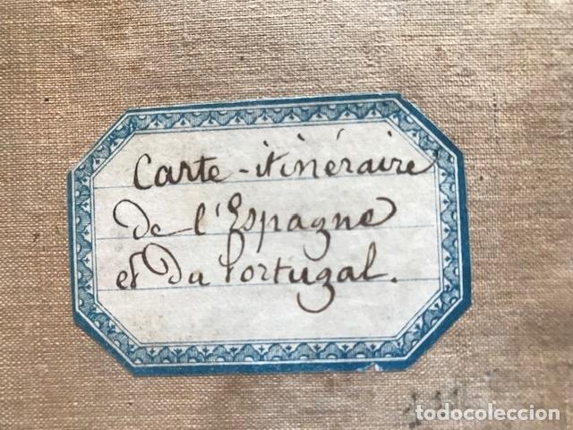 Arte: Gran mapa plegable de España y Portugal, hacia 1840. Fremin/Lavigne - Foto 30 - 209579826