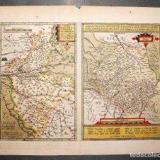 Arte: BLAISOIS BLESIENSIS HANC TABULAM DESCRIBEBAT IOANNES TEMPORIUS BLESIS, ANNO MESSIA NATI 1592. Lote 27374399