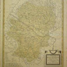 Arte: MAPA DEL REINO DE ARAGON DEL SIGLO XVIII. TÓMAS LÓPEZ. Lote 210127595