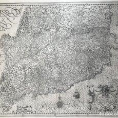 Arte: GRAN MAPA DE CATALUÑA (ESPAÑA), 1628. MERCATOR/HONDIUS. Lote 210194327