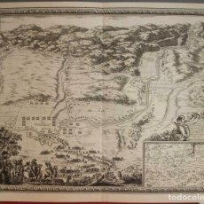 Arte: GRAN MAPA DEL ASEDIO A LA CIUDAD DE BALAGUER (LÉRIDA, ESPAÑA), 1645. S. PONTAULT DE BEAULIEU. Lote 210282045