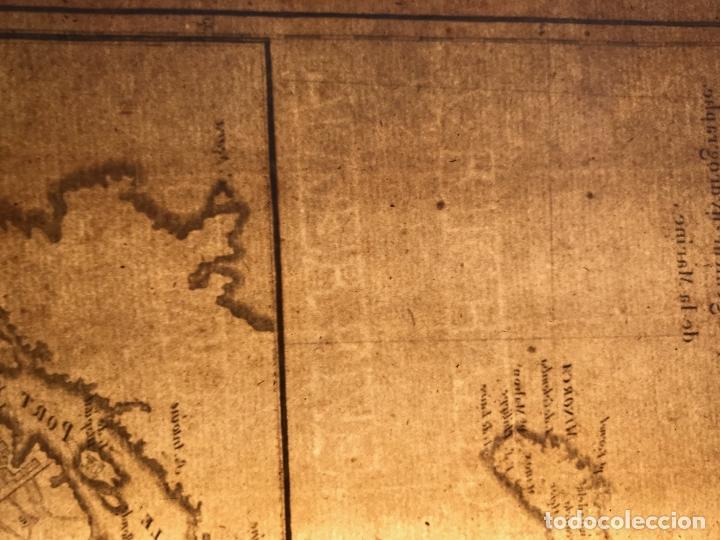Arte: Mapa de Valencia y las Islas Baleares (España), 1780. Bonne/André - Foto 11 - 210549925