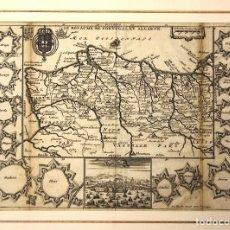 Arte: MAPA LE ROYAUME DE PORTUGAL ET ALGARVE. SIGLO XVIII. Lote 210743811
