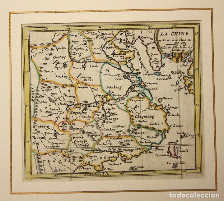 MAPA LA CHINE. CHINA. SIGLO XVIII (Arte - Cartografía Antigua (hasta S. XIX))