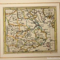 Arte: MAPA LA CHINE. CHINA. SIGLO XVIII. Lote 210743881