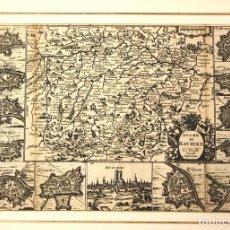 Arte: MAPA DUCHÉ DE BAVIERE. DUCADO DE BAVIERA. SIGLO XVIII. Lote 210743990