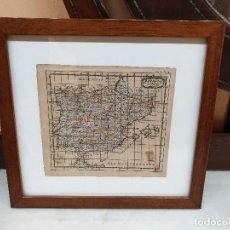 Arte: MAPA DE ESPAÑA, GRABADO. NICOLAS SANSON. 1648. Lote 211668179