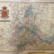 Arte: MAPA DE ZARAGOZA DE 1903. Lote 211696060
