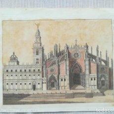 Arte: GRABADO GIRALDA DE SEVILLA - AÑO 1792. Lote 211956127