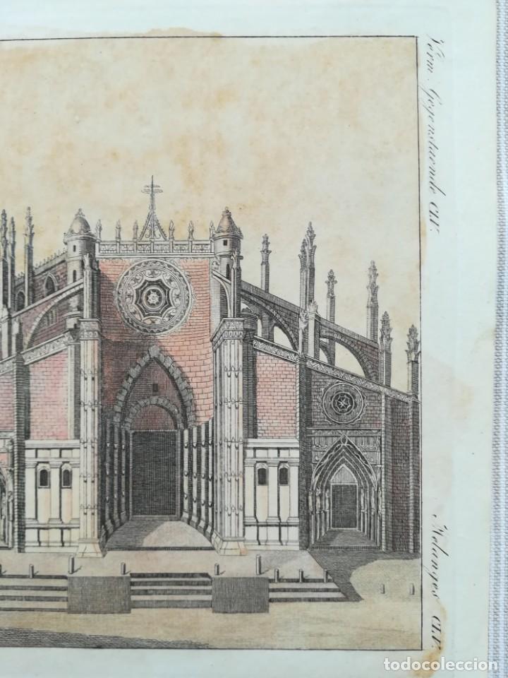 Arte: GRABADO GIRALDA DE SEVILLA - AÑO 1792 - Foto 2 - 211956127