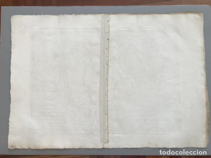 Arte: Mapa de Galicia, Asturias, León, Cantabria, País Vasco,.. (España), 1787. Bonne/Herisson/André - Foto 11 - 213306330