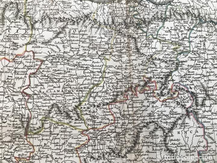 Arte: Mapa de España y Portugal, 1804. Poirson/Tardieu/Mentelle/Malte Brun - Foto 7 - 213308533