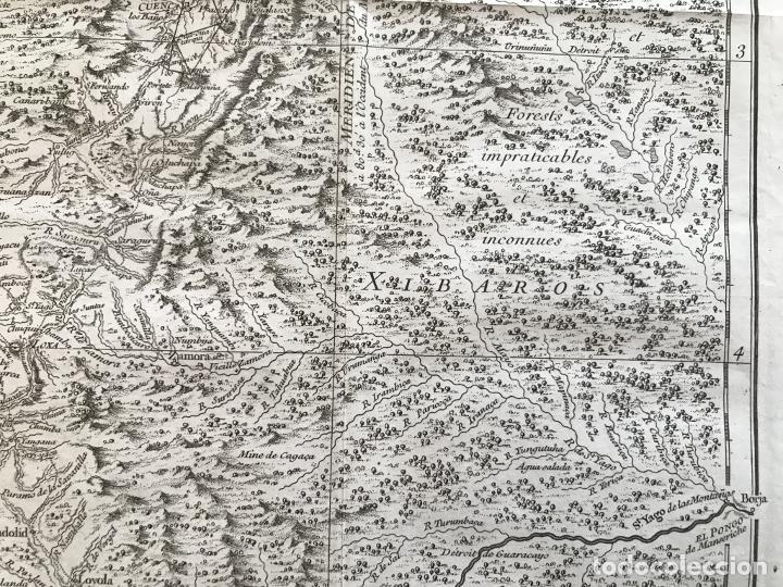 Arte: Mapa de la antigua provincia de Quito o Perú (Ámerica del sur), ca. 1746. Anville/Prevost - Foto 9 - 213310325