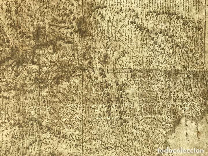 Arte: Mapa de la antigua provincia de Quito o Perú (Ámerica del sur), ca. 1746. Anville/Prevost - Foto 17 - 213310325
