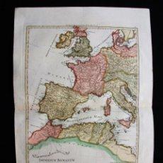 Arte: MAPA DE LA PARTE OCCIDENTAL DEL IMPERIO ROMANO, 1787. BONNE/DESMAREST. Lote 213343958
