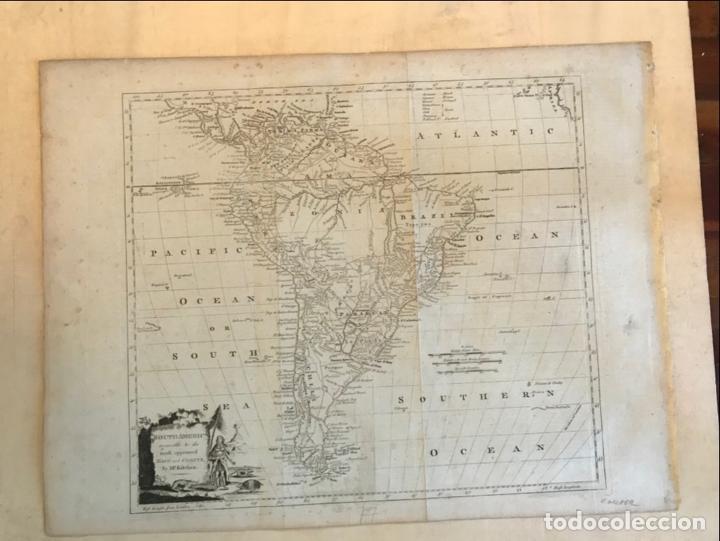 Arte: Mapa de América del Sur, 1778. Kitchin/Moore - Foto 2 - 213391341