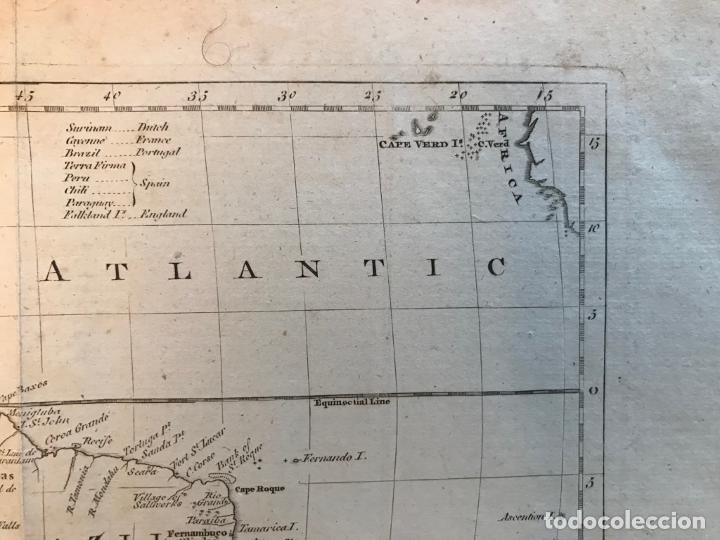 Arte: Mapa de América del Sur, 1778. Kitchin/Moore - Foto 5 - 213391341