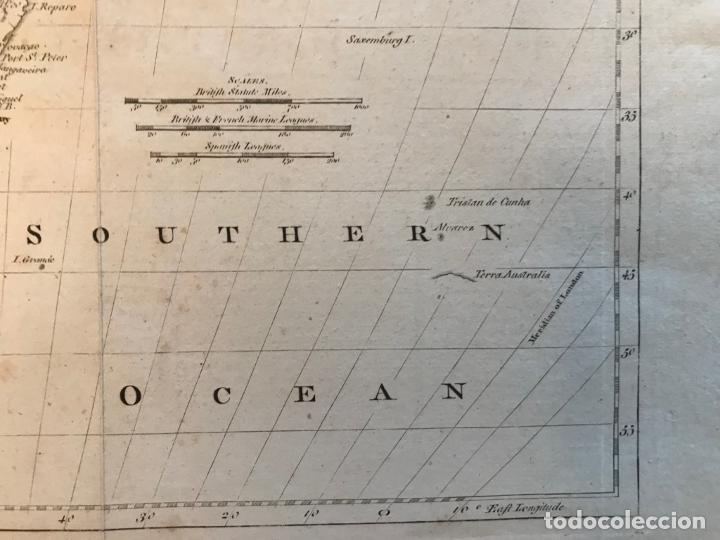 Arte: Mapa de América del Sur, 1778. Kitchin/Moore - Foto 8 - 213391341