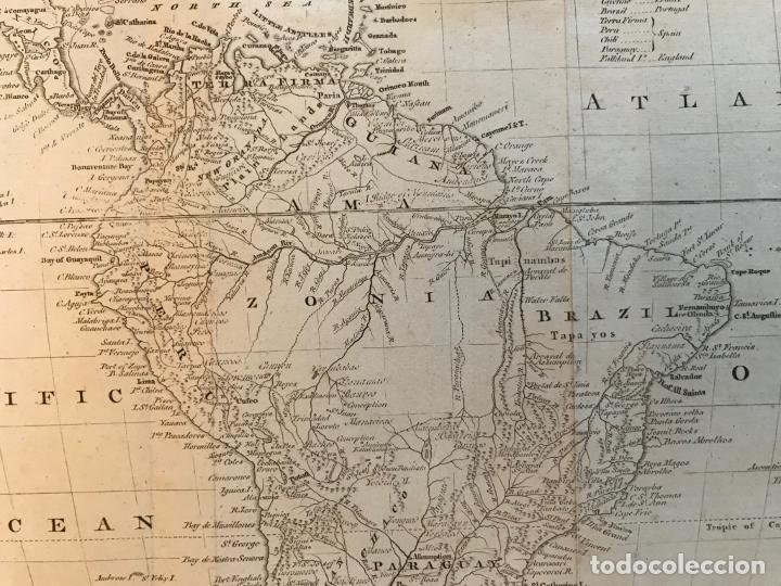Arte: Mapa de América del Sur, 1778. Kitchin/Moore - Foto 11 - 213391341