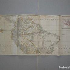 Arte: GRAN MAPA DEL NORTE DE AMÉRICA DEL SUR, HACIA 1780. ANVILLE/ROBERT SAYER. Lote 213560811