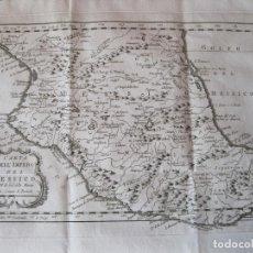 Arte: MAPA DE MÉXICO (EDICIÓN ITALIANA), 1785. BELLIN/PREVOST. Lote 214017458