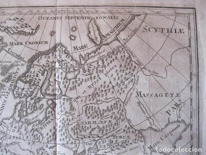 Arte: Mapa de Europa en la antigüedad, 1711. Cluver/ Bunone - Foto 4 - 214018501