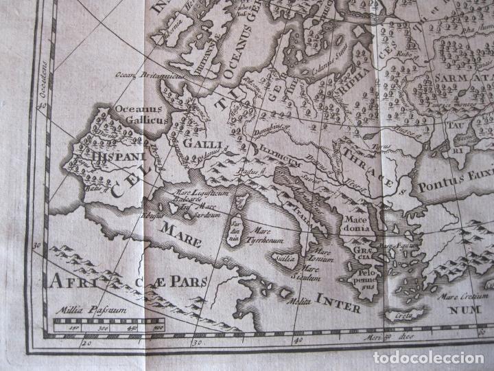 Arte: Mapa de Europa en la antigüedad, 1711. Cluver/ Bunone - Foto 5 - 214018501