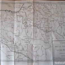 Arte: MAPA DE NAVARRA Y VIZCAYA (ESPAÑA), 1780. BRION DE LA TOUR. Lote 214172958