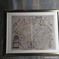 Arte: MAPA REINO DE ARAGÓN, JOHANNES BATISTE LABANHA BLEAU SIGLO XVII ORIGINAL. Lote 214747437