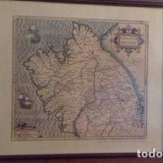 Arte: MAPA REYNO DE GALICIA 1606. Lote 214827170