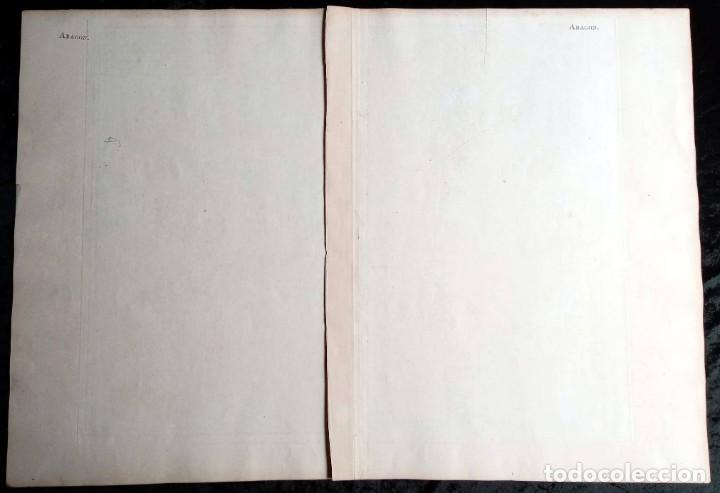 Arte: MAPA CORONA DE ARAGON - NAVARRA - PRINCIPADO DE CATALUÑA - 1752 - VAUGONDY - 80x55cm - marca agua - Foto 26 - 217227888