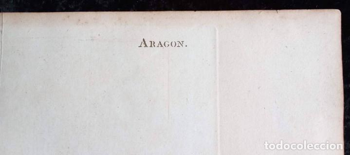 Arte: MAPA CORONA DE ARAGON - NAVARRA - PRINCIPADO DE CATALUÑA - 1752 - VAUGONDY - 80x55cm - marca agua - Foto 29 - 217227888