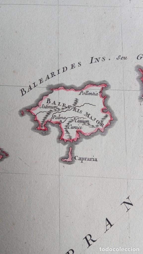 Arte: HISPANIA ANTIQUA - 1750 - TARRACONENSEM - LUSITANIAM ET BAETICAM - ROBERT DE VAUGONDY - Foto 11 - 217641726