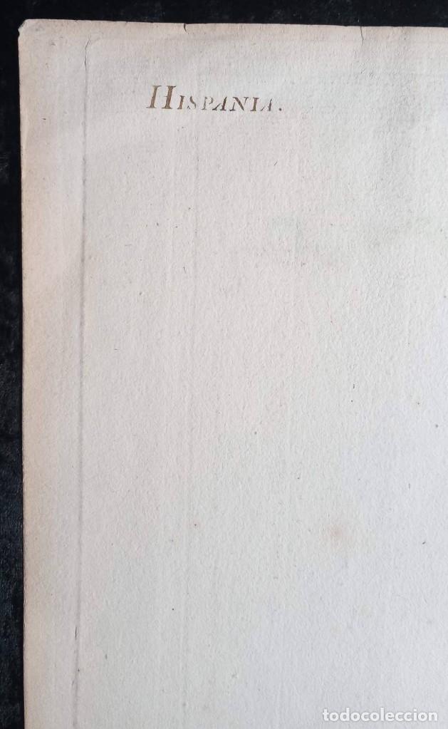 Arte: HISPANIA ANTIQUA - 1750 - TARRACONENSEM - LUSITANIAM ET BAETICAM - ROBERT DE VAUGONDY - Foto 18 - 217641726