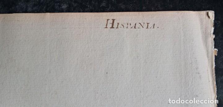 Arte: HISPANIA ANTIQUA - 1750 - TARRACONENSEM - LUSITANIAM ET BAETICAM - ROBERT DE VAUGONDY - Foto 19 - 217641726