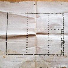 Arte: CARTOGRAFIA,PLANO ORIGINAL DE LA MEZQUITA-CATEDRAL DE CORDOBA EN TIEMPO DE LOS ARABES,SIGLO XIX,1820. Lote 218114143