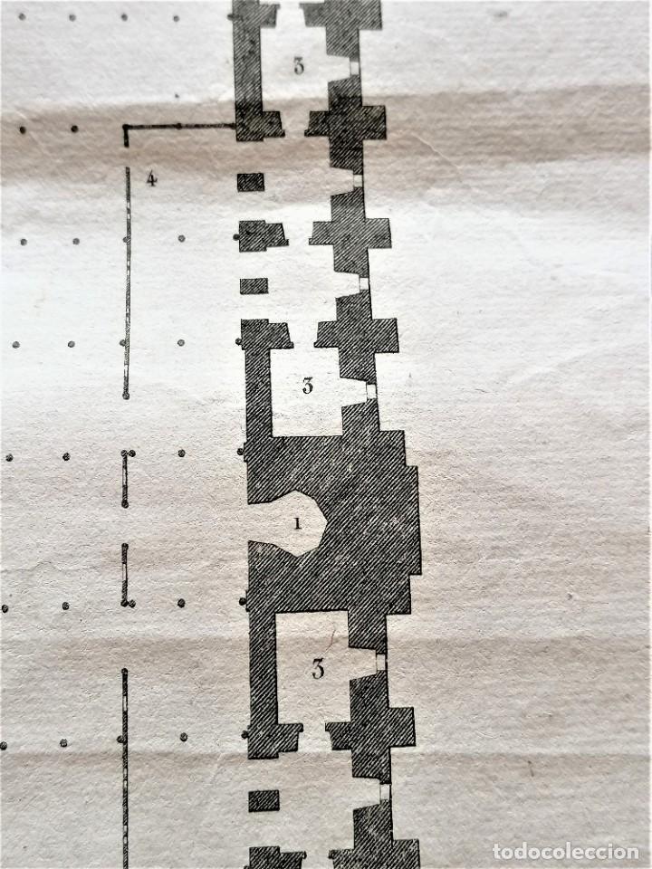Arte: CARTOGRAFIA,PLANO ORIGINAL DE LA MEZQUITA-CATEDRAL DE CORDOBA EN TIEMPO DE LOS ARABES,SIGLO XIX,1820 - Foto 8 - 218114143