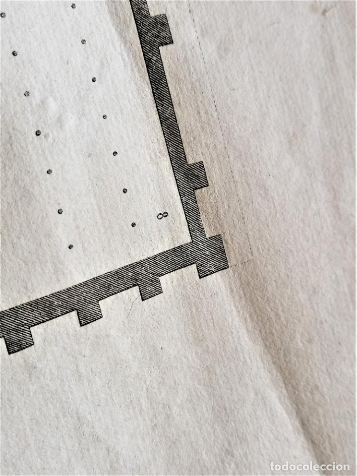 Arte: CARTOGRAFIA,PLANO ORIGINAL DE LA MEZQUITA-CATEDRAL DE CORDOBA EN TIEMPO DE LOS ARABES,SIGLO XIX,1820 - Foto 9 - 218114143