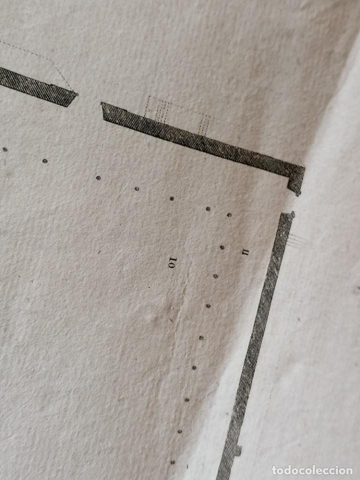 Arte: CARTOGRAFIA,PLANO ORIGINAL DE LA MEZQUITA-CATEDRAL DE CORDOBA EN TIEMPO DE LOS ARABES,SIGLO XIX,1820 - Foto 10 - 218114143