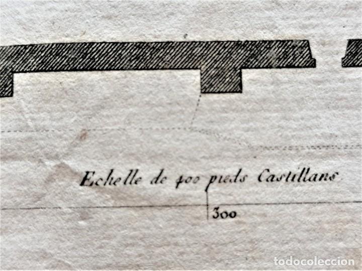 Arte: CARTOGRAFIA,PLANO ORIGINAL DE LA MEZQUITA-CATEDRAL DE CORDOBA EN TIEMPO DE LOS ARABES,SIGLO XIX,1820 - Foto 12 - 218114143