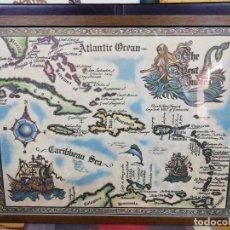 Arte: MAPA THE WEST INDIES /MAR CARIBE /ÉPOCA DEL DESCUBRIMIENTO. Lote 221898970