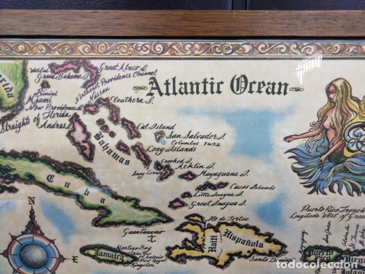 Arte: Mapa the West INDIES /MAR CARIBE /Época del descubrimiento - Foto 2 - 221898970