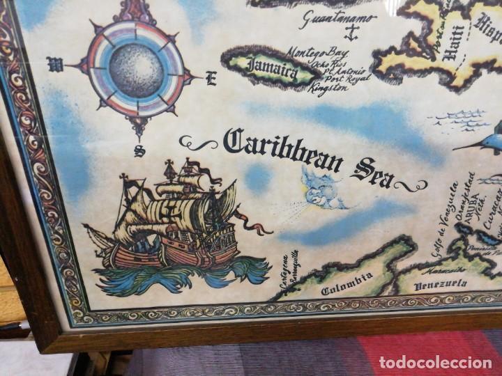 Arte: Mapa the West INDIES /MAR CARIBE /Época del descubrimiento - Foto 3 - 221898970