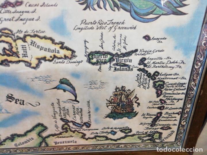 Arte: Mapa the West INDIES /MAR CARIBE /Época del descubrimiento - Foto 4 - 221898970