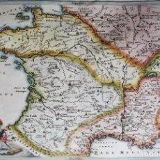Arte: FRANCIA CELLARIUS, 1703, GALLIA NARBONENSIS LUGDUNENSIS ET AQUITANEA. Lote 221992007
